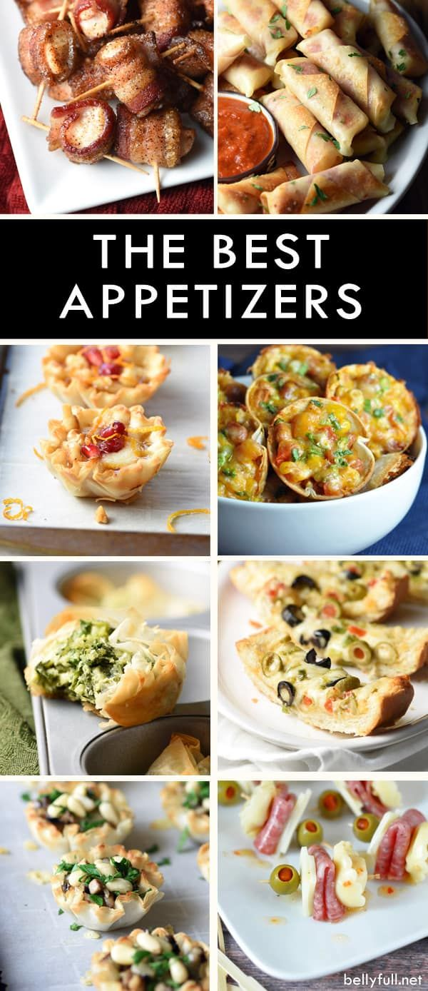 Photo of The Best Appetizers!