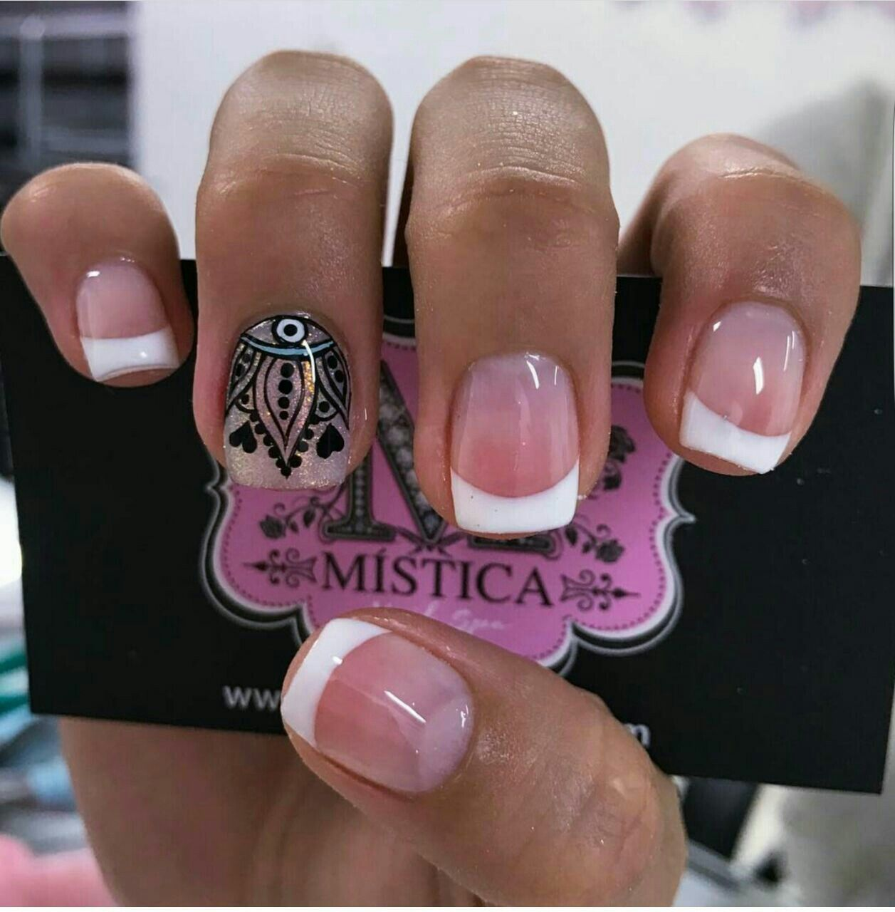 Pin by Ana Karen Estupiñan on uñas | Pinterest | Manicure, Magic ...