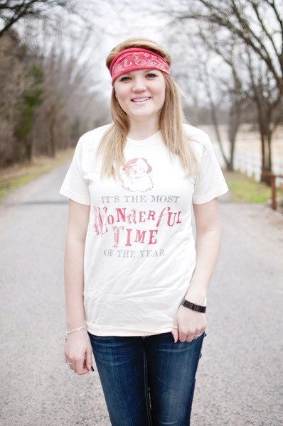 It's the Most Wonderful Time of the Year - Christian T-Shirt by Ruby's Rubbish $24