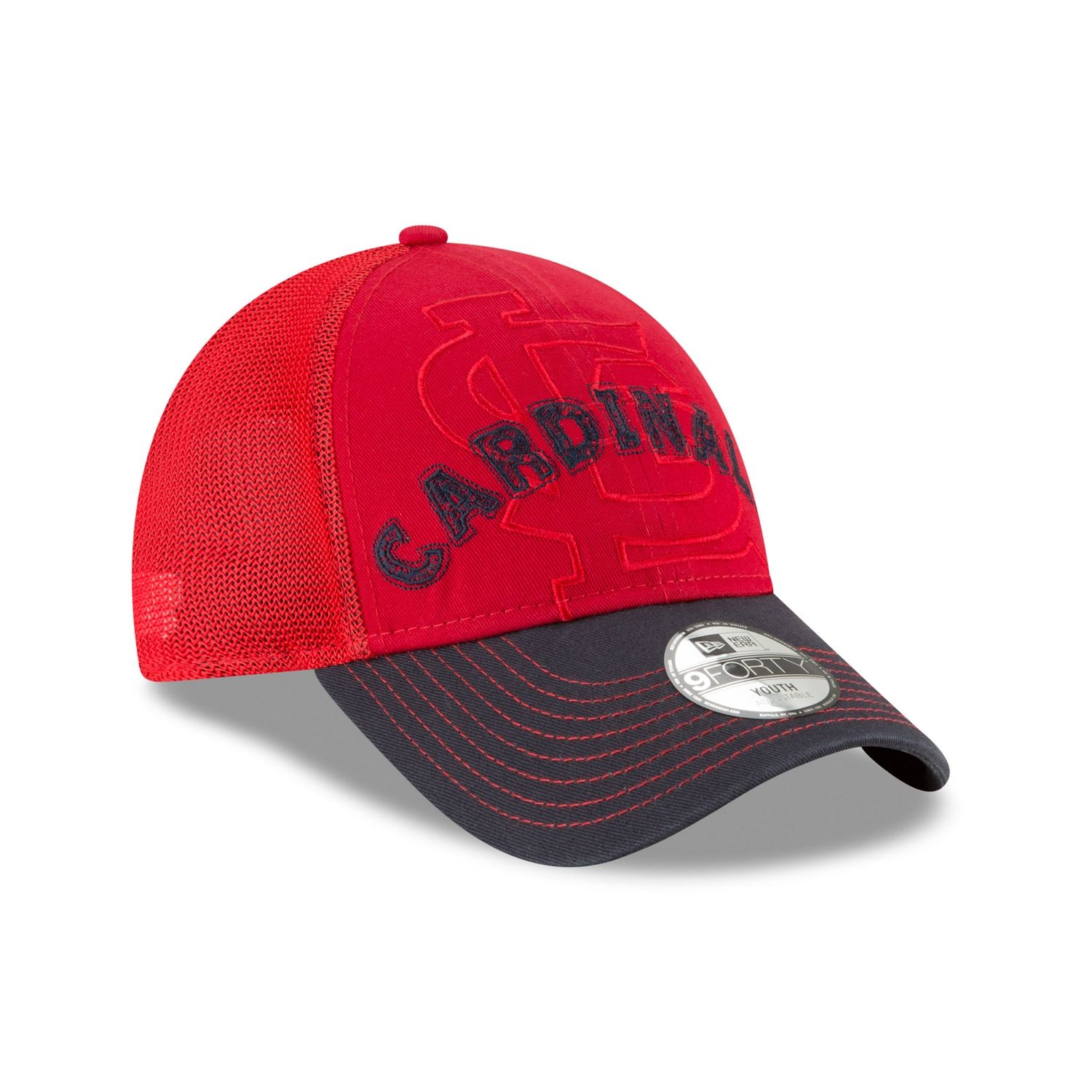 888b62350cd Youth New Era St. Louis Cardinals 9FORTY Stitcher Adjustable Cap  Affiliate   St