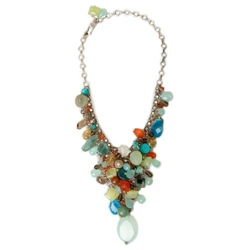Spring / Summer Semi-Precious Bib Necklace