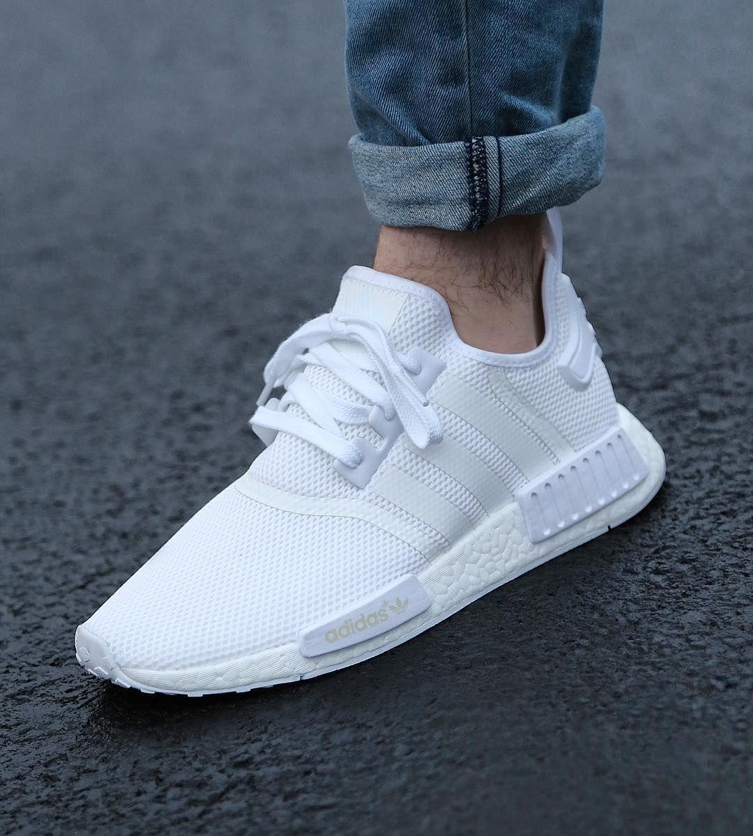 5abce2cfe0ce adidas shirt white ripped denim jeans White Adidas Shoes Mens