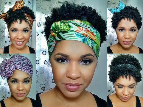 Enfeite seu crespo/cachos: acessórios para cabelo    Naamy Silva - YouTube
