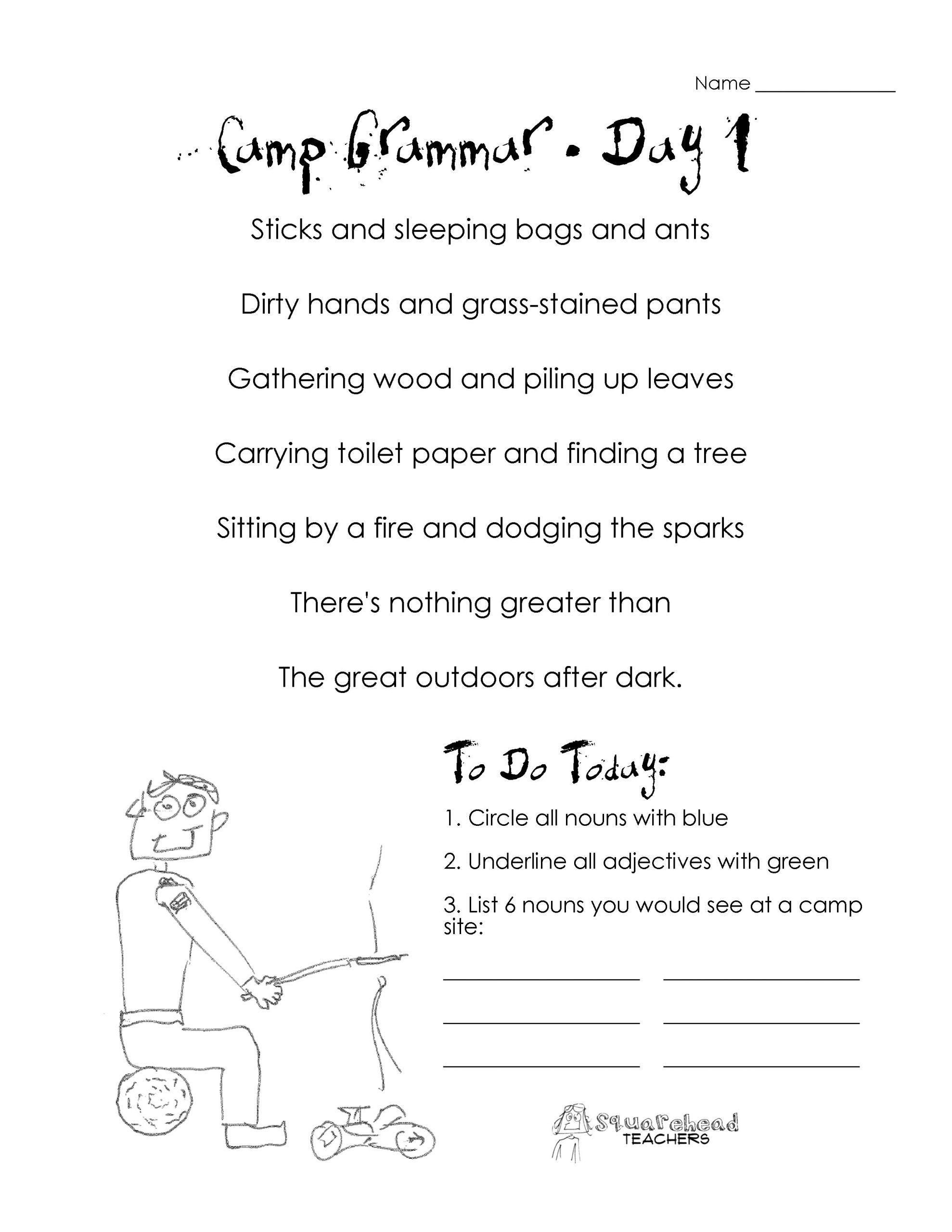 2nd Grade Grammar Worksheets Pdf 47 Free Punctuation Worksheets for Year 1  for Works…   Third grade grammar worksheets [ 2560 x 1978 Pixel ]