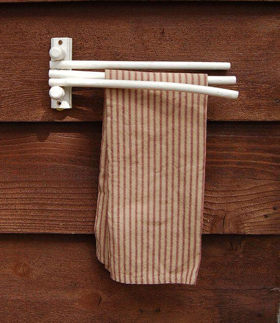 Swing Arm Towel Holder, Vintage Kitchen Towel Rack, Old Folding Towel  Dryingu2026