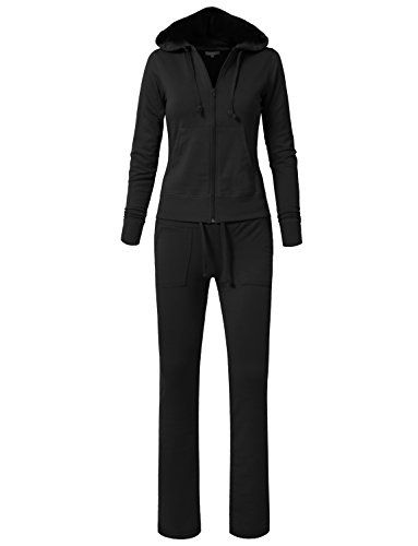22836bff435f4 Women's Athletic Clothing Sets - NE PEOPLE Womens Hoodie and ...