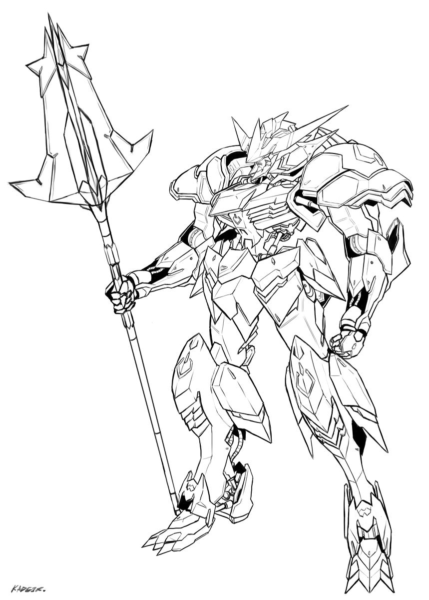 By 人間プラモ By Londobell Barbatos Project
