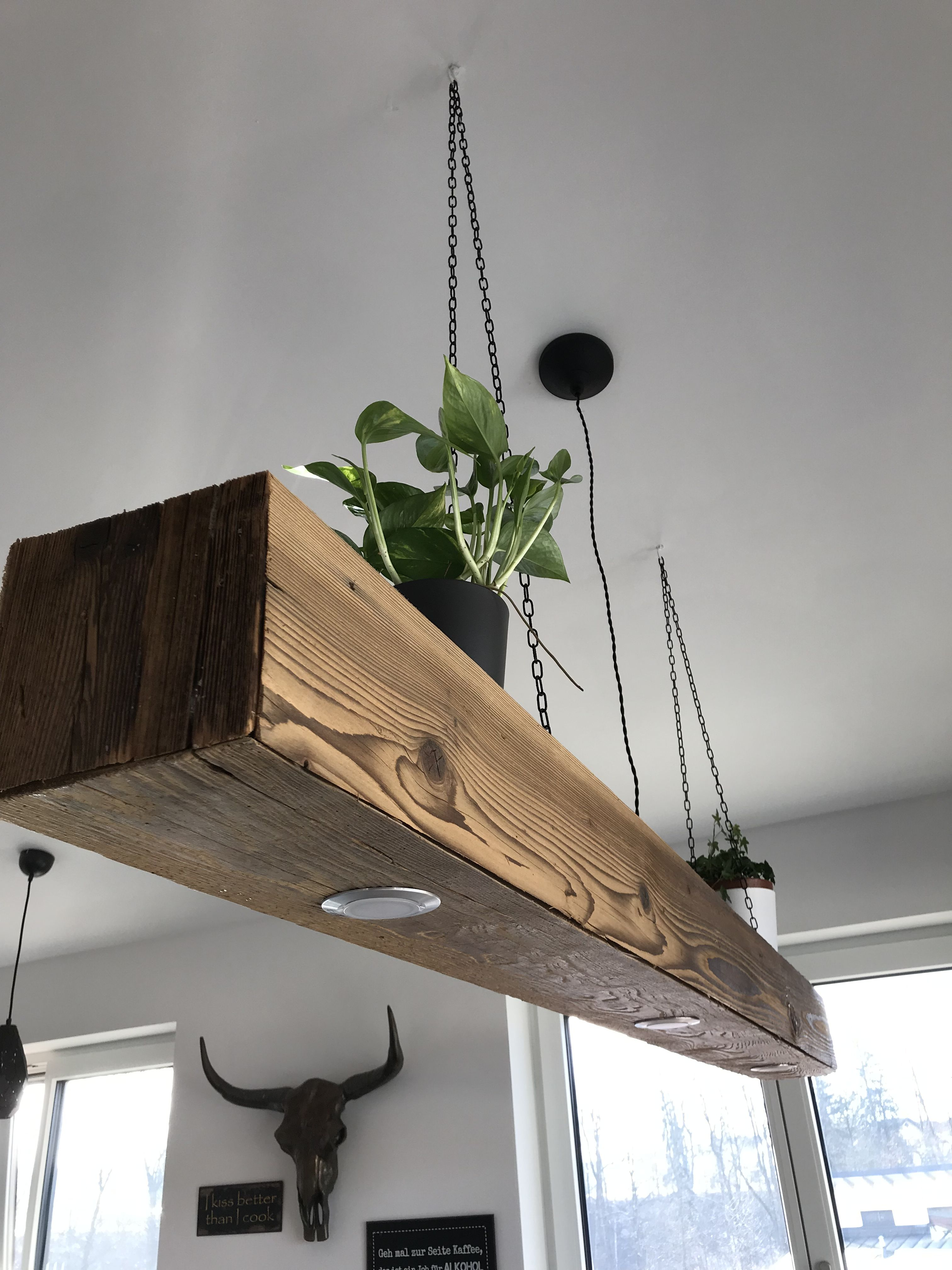 Holz Deckenlampe   Deckenlampe, Lampen, Holz