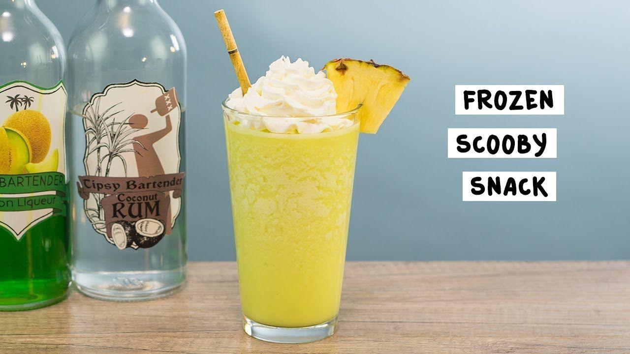 Frozen scooby snack recipe tipsy bartender frozen