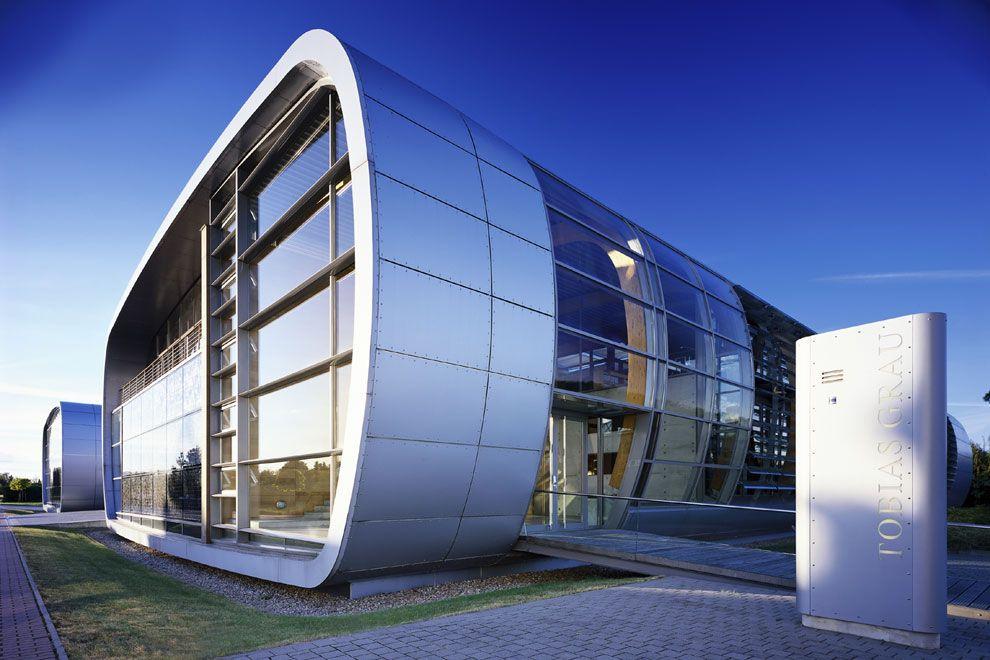 Tobias Grau Office By Brt Alucobond Silver Metallic