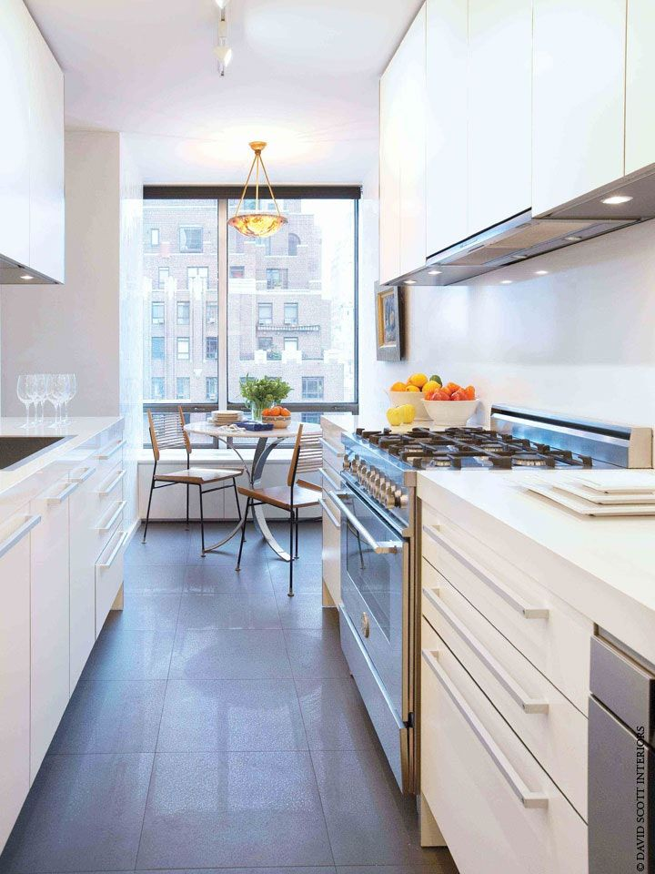 29 Awesome Galley Kitchen Remodel Ideas, Design, & Inspiration images