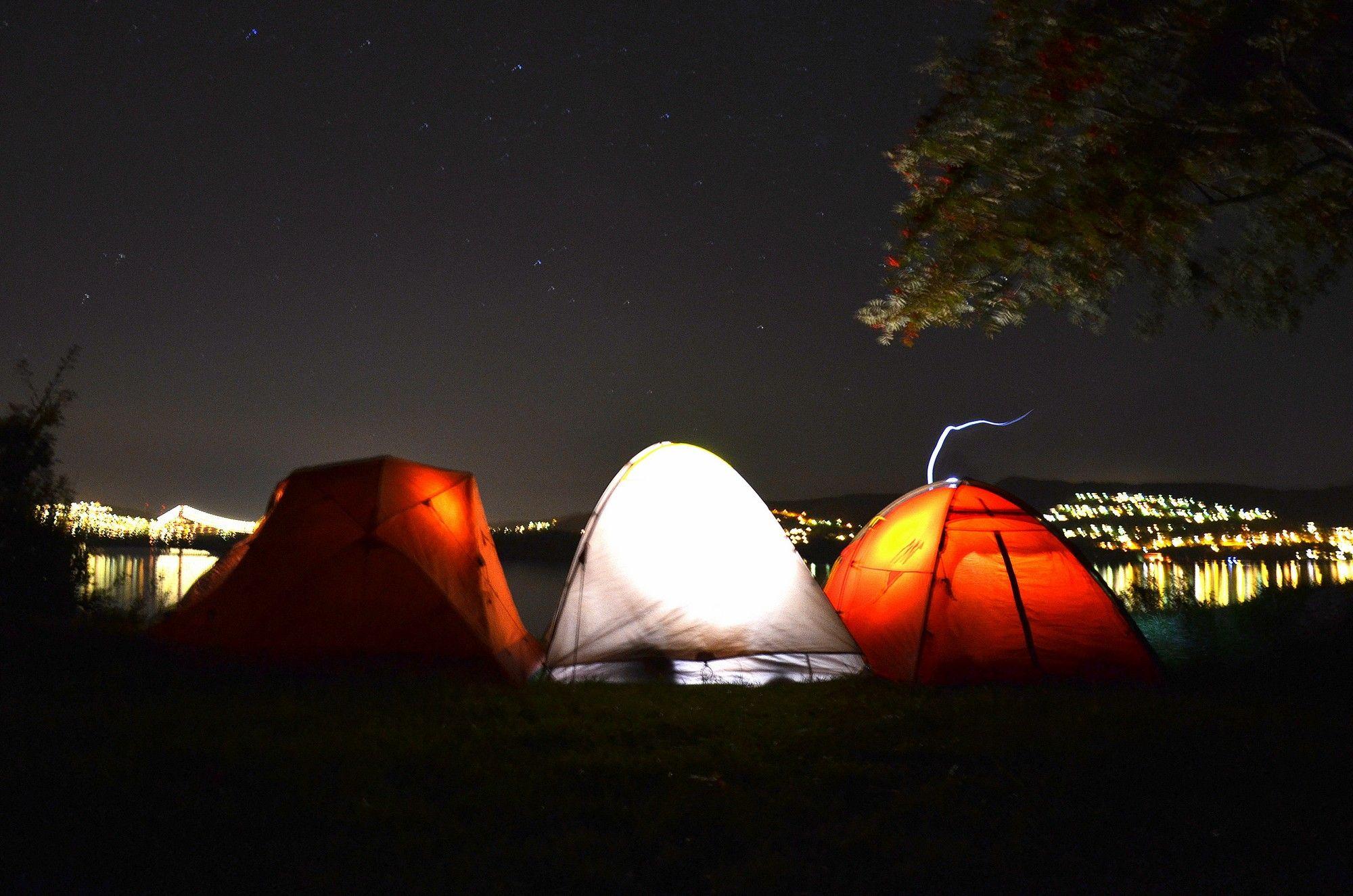 Campement près de Hellen