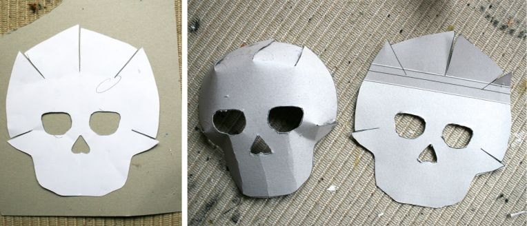 Day Of The Dead Crafts Masks Skull Template Day Of The Dead Mask Day Of The Dead Skull