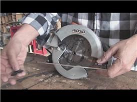 Video changing a circular saw blade tools pinterest blade and video changing a circular saw blade greentooth Image collections