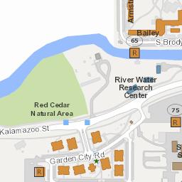 Interactive Campus Map Michigan State University Work Ideas - Interactive map msu