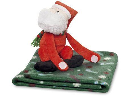 Kinder Fleece Decke Mit Nikolaus Ideales Geschenk Für Kinder