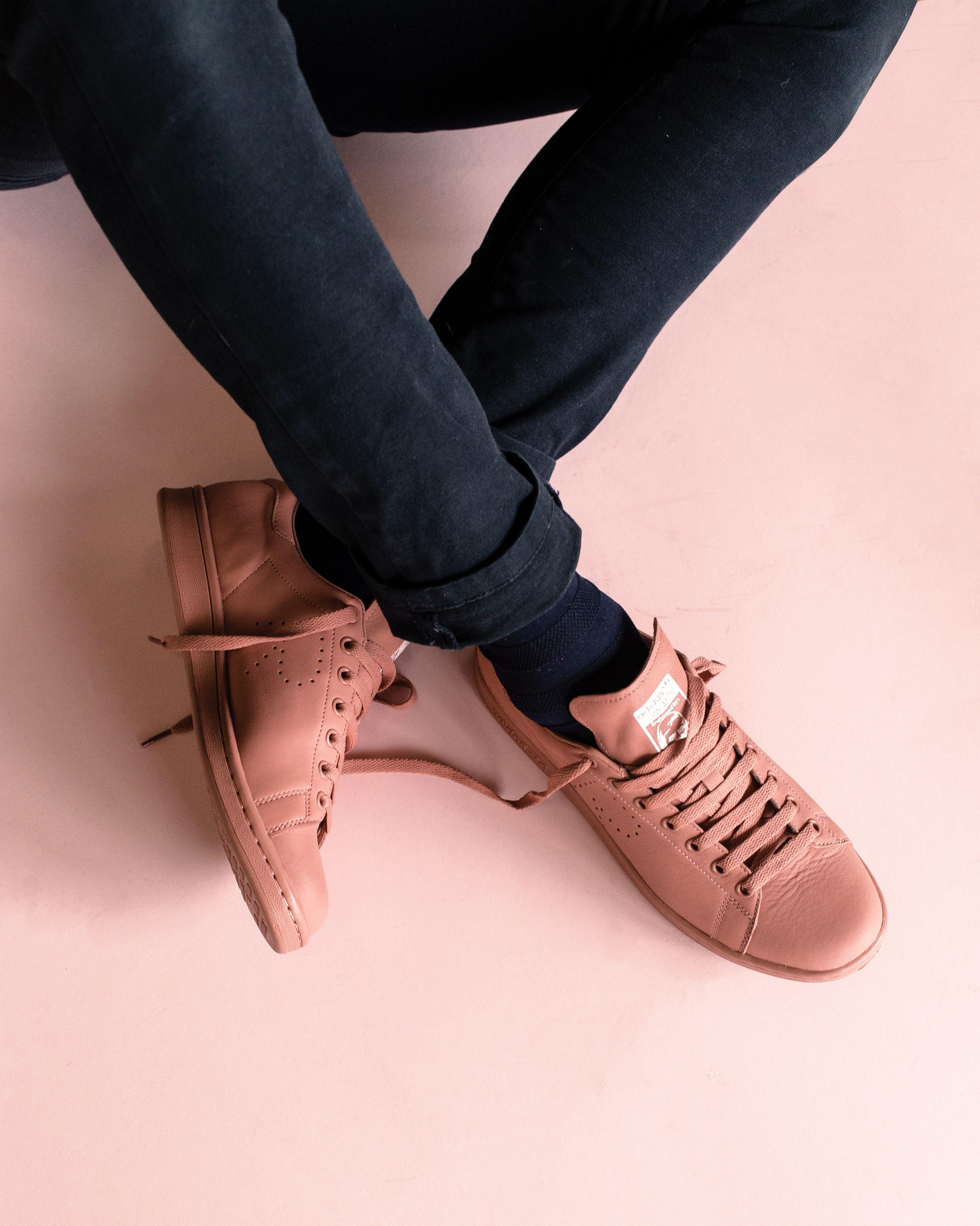 Adidas By Raf Simons Stan Smith Ash Pink