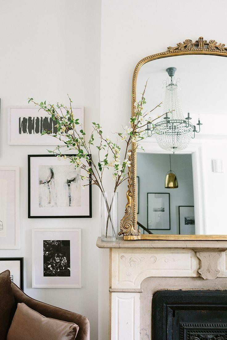 Esszimmer dekor wohnung cool mirror in   living room decor  pinterest  einrichten
