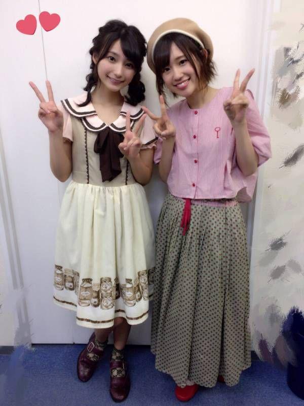 洋服が素敵な高野麻里佳さん