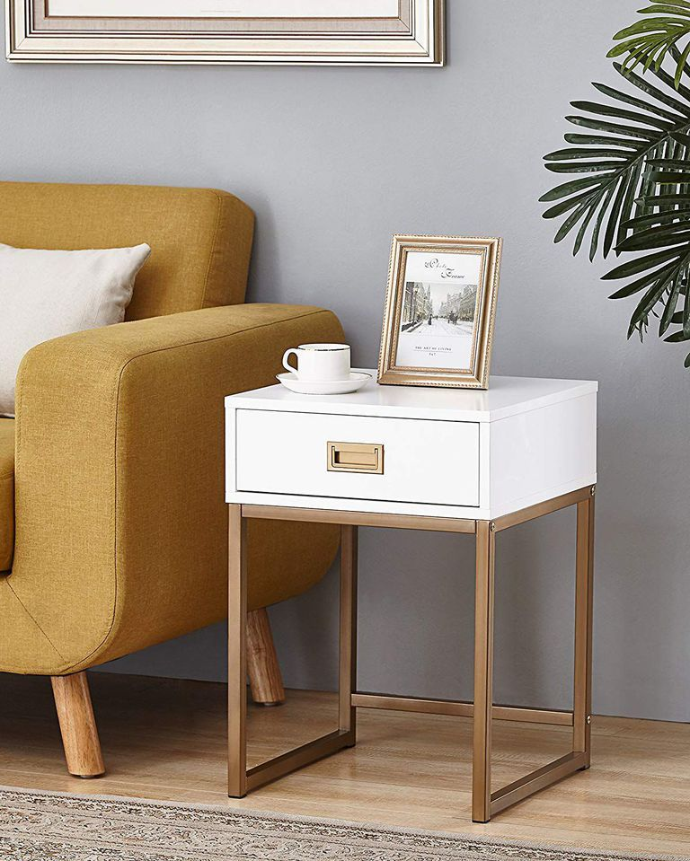 10 Actually Stylish Bedside Tables That Won't Keep You Up