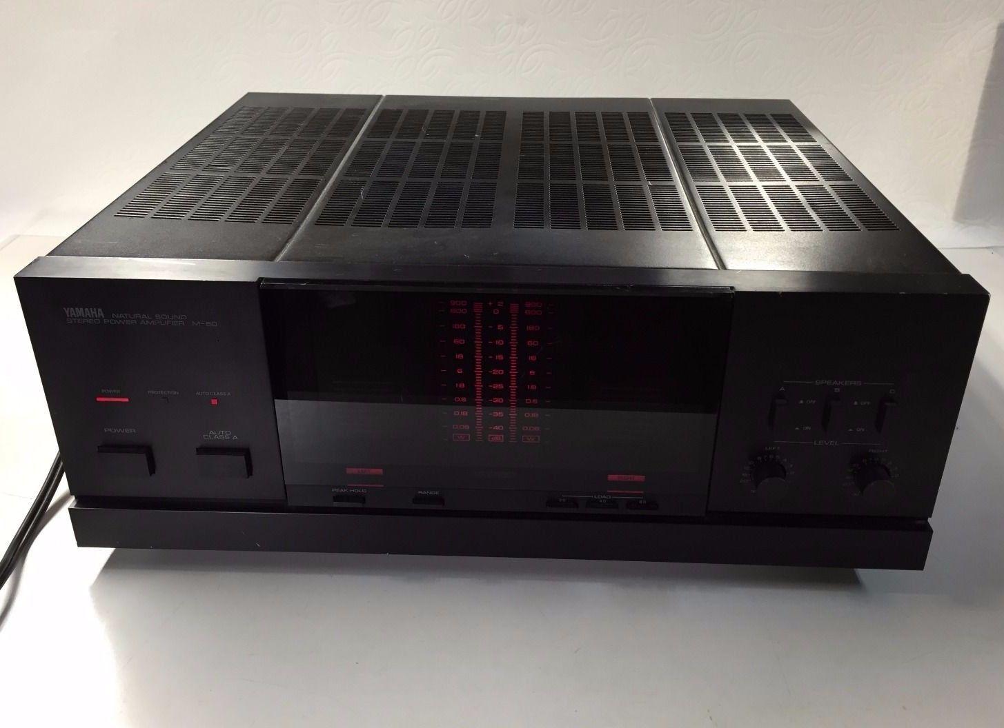 yamaha m 80 amplifier in tv video audio heim audio. Black Bedroom Furniture Sets. Home Design Ideas