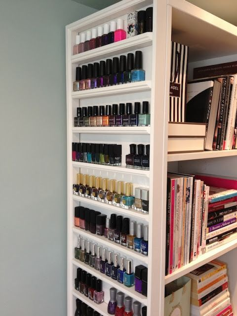 idea? Maggie\'s Makeup: Nail Polish Storage - Video. | Humor ...