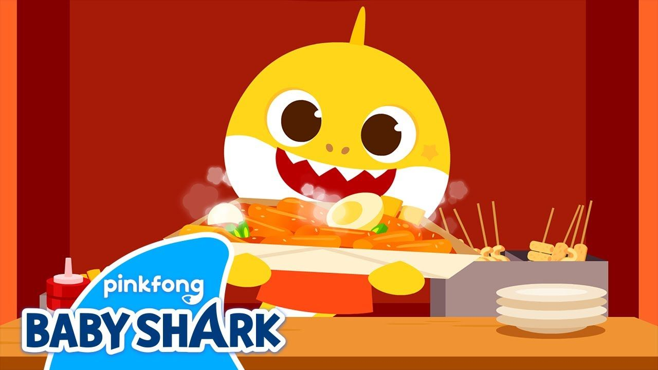 World Street Foods Learn Culture With Baby Shark Brooklyn Baby Shark In 2021 Baby Shark Brooklyn Baby World Street Food