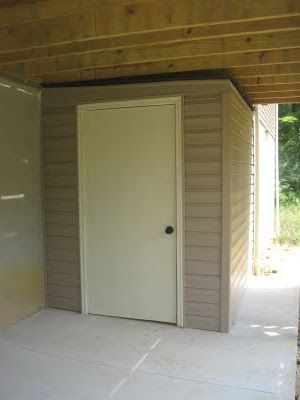 Build A Shed Under Your Deck Instead Of Having An Ugly One On Lawn