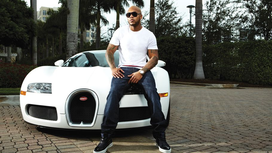 Flo Rida Flo Rida Rapper Rap Hip Hop Cool Cars Music Rapper - Cool cars music