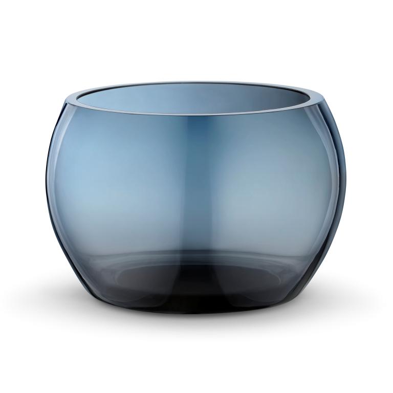 Cuenco Cafu vidrio azul