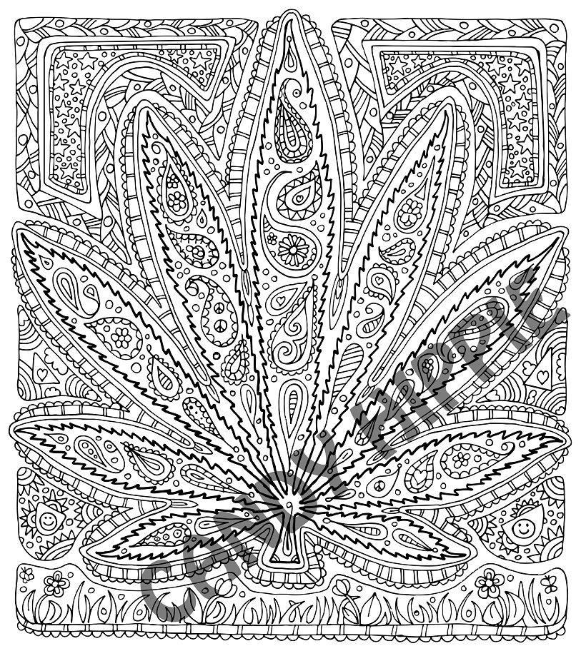 Got Leaf By Candy Hippie Deviantart Com On Deviantart Leaf Coloring Page Free Adult Coloring Pages Coloring Book Pages