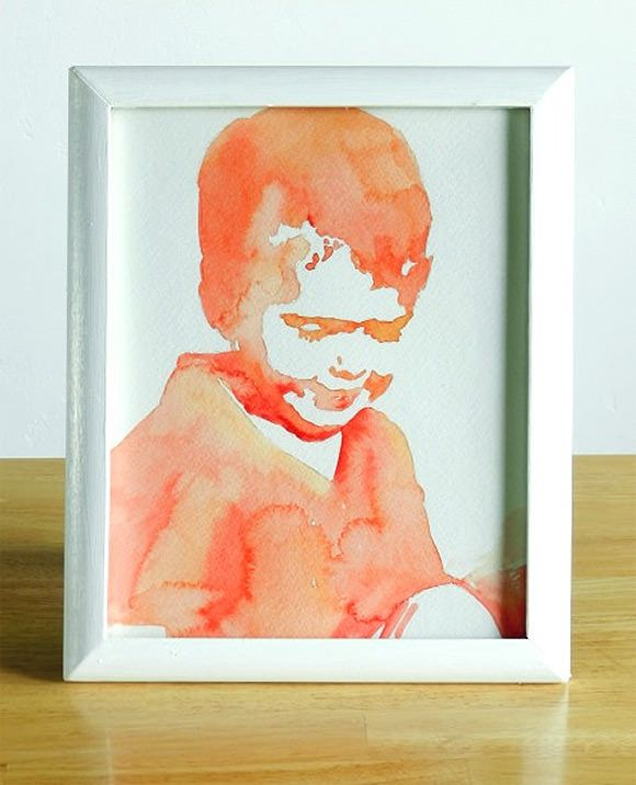 6 Awesome Diy Watercolor Projects Watercolor Portrait Tutorial