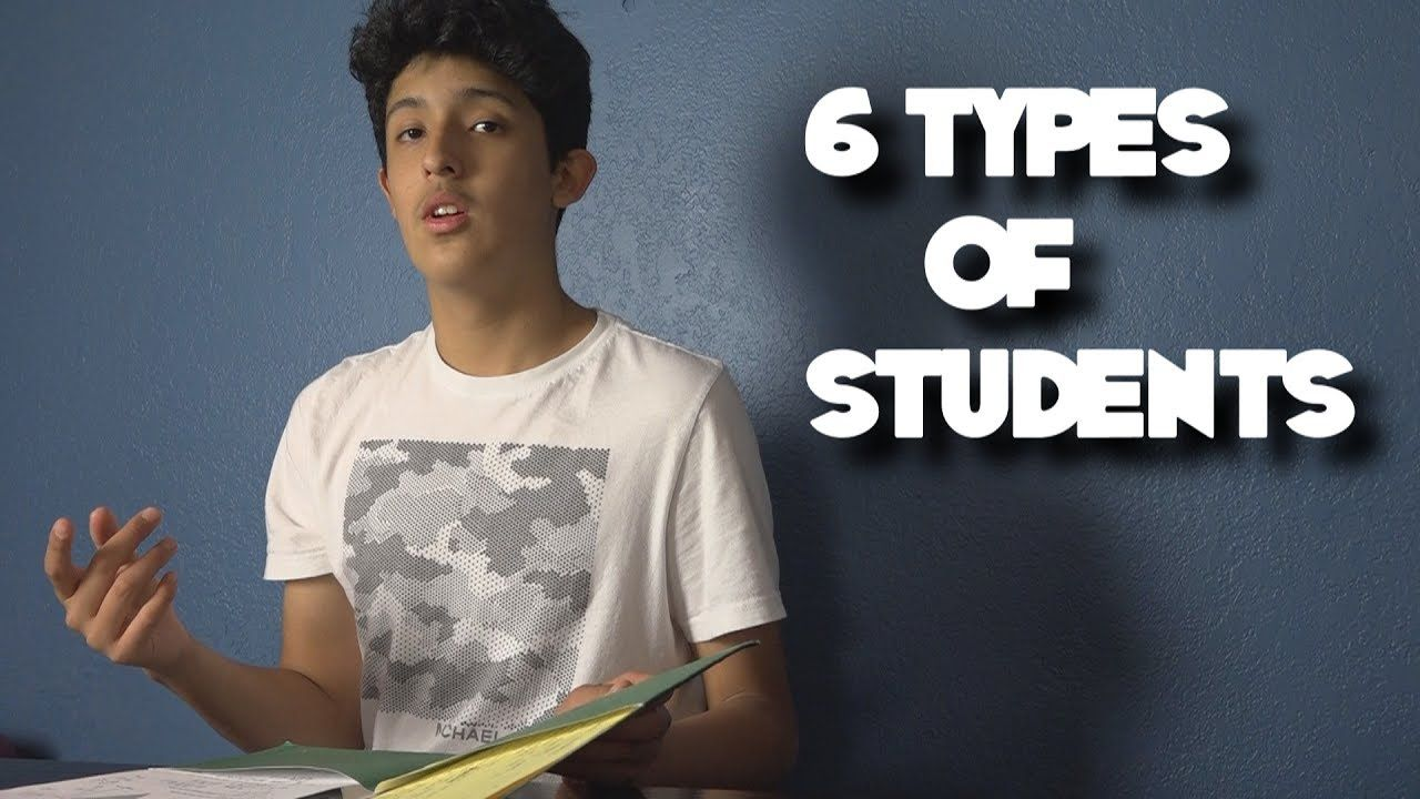 Funny Meme Types : 6 types of students #humor #funny #lol #comedy #chiste #fun #chistes