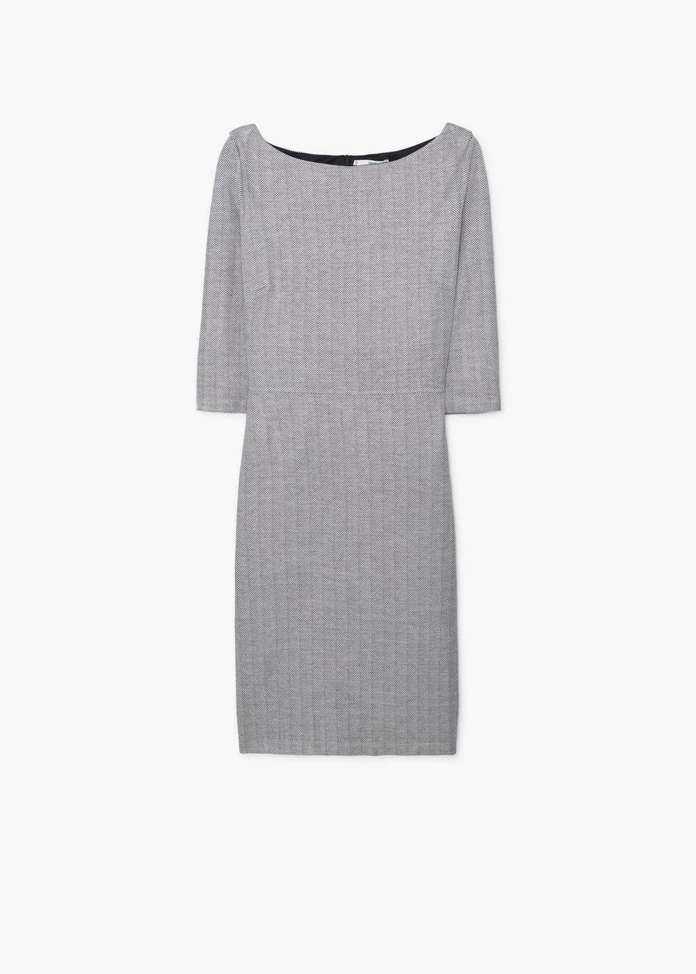 Schmales kleid -  Damen | MANGO