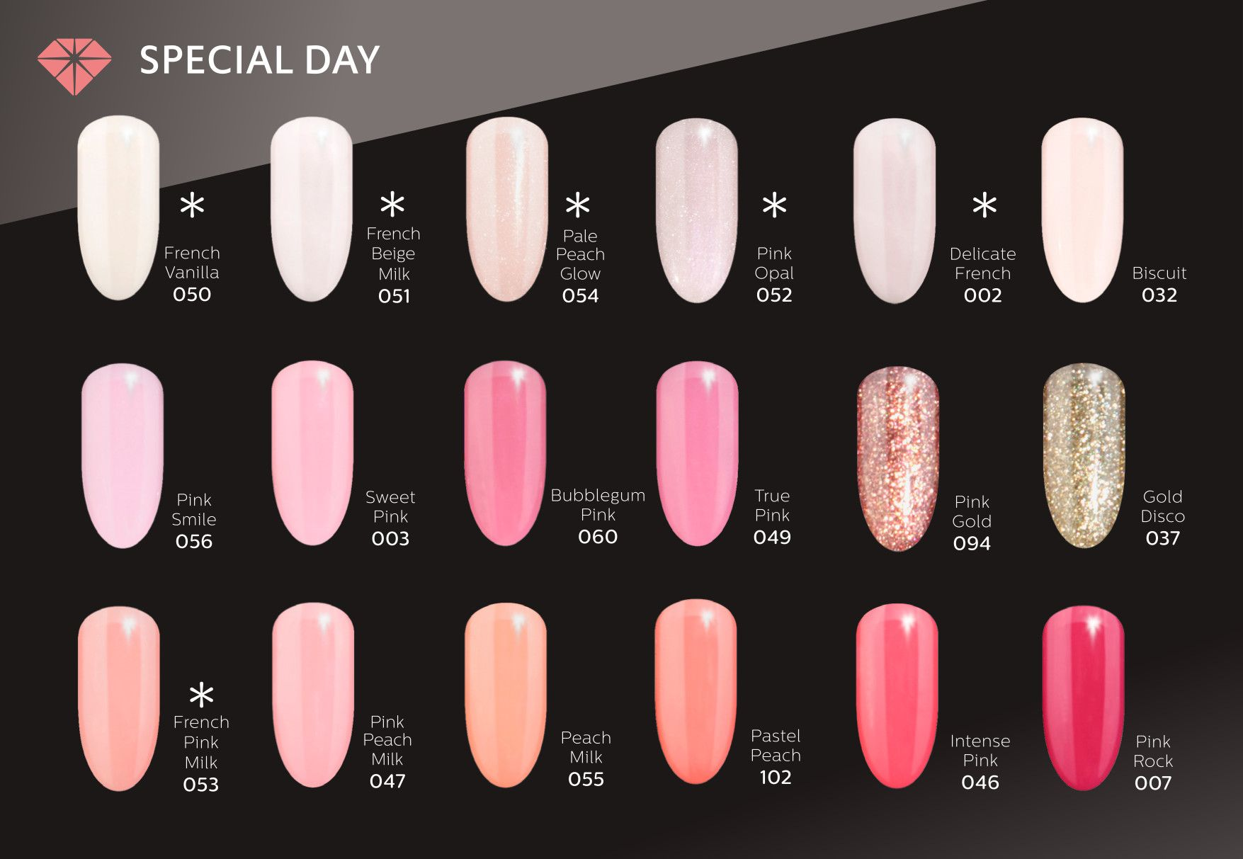 Semilac Special Day With Images Pink Gel Nails Nails Gel Nails