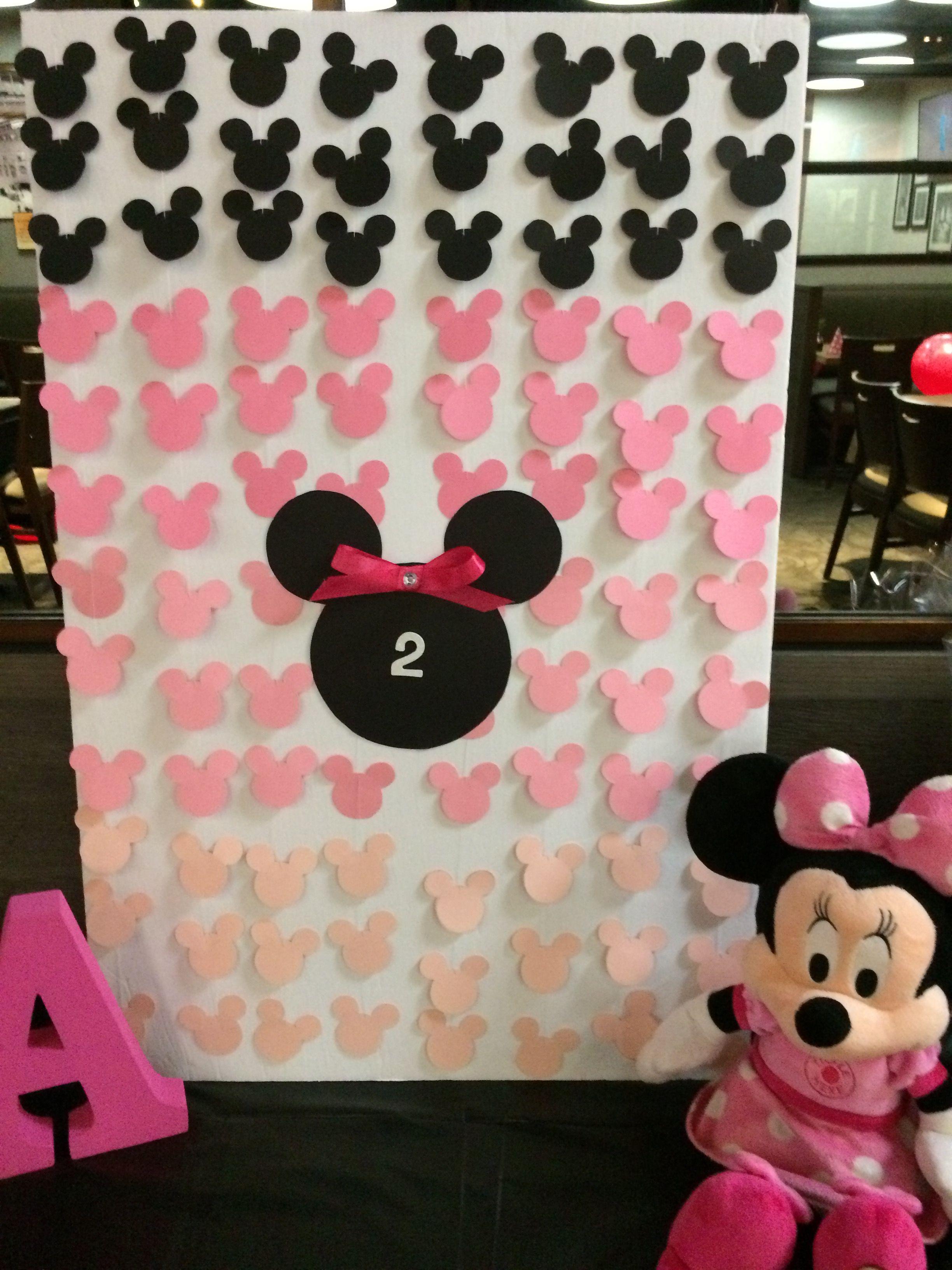 Minnie Mouse Diy Backdrop Board Diy Backdrop Minnie 2nd Birthday