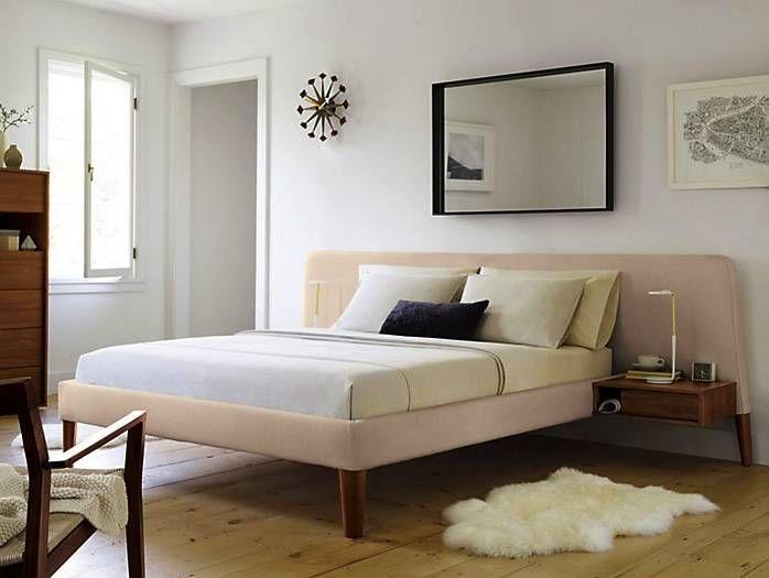 Parallel Wide Queen Bed De Design Within Reach Mexico Moderno Cuero Gris Homify Bedroom Furniture Design Bed Design Modern Platform Bed