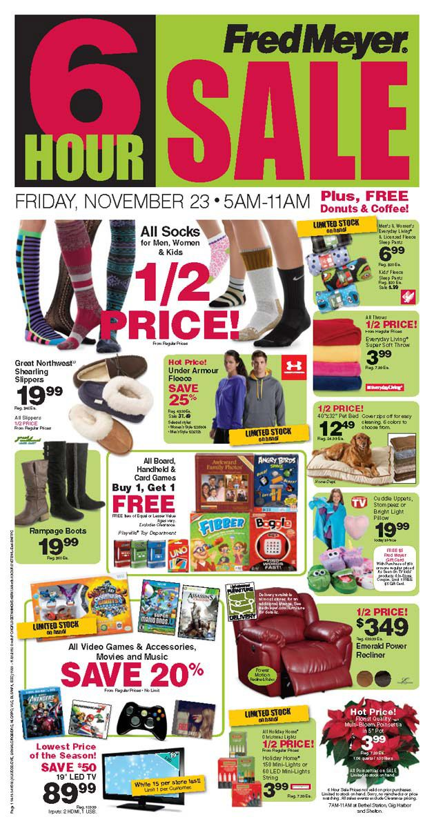 Fred Meyer Black Friday 2013 Ad Find The Best Fred Meyer Black