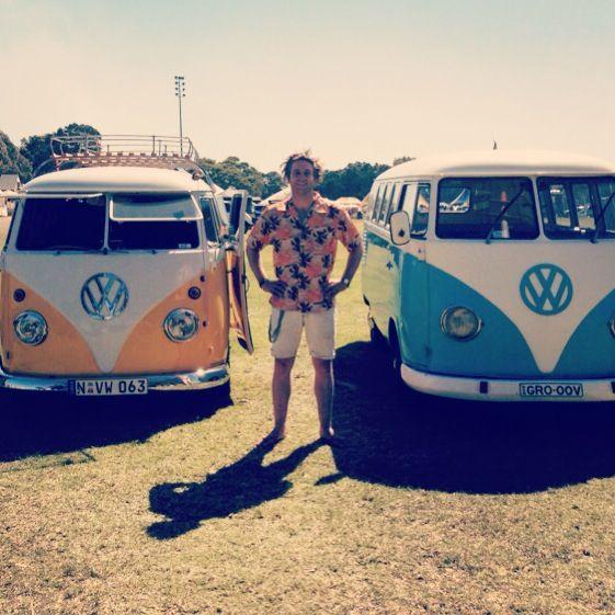 Split screen kombis at old bar kombi festival NSW Australia & Split screen kombis at old bar kombi festival NSW Australia | VW ...