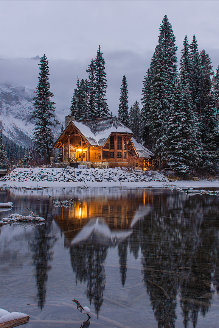 Traumhaftes Haus am Emerald Lake in Kanada in 2020