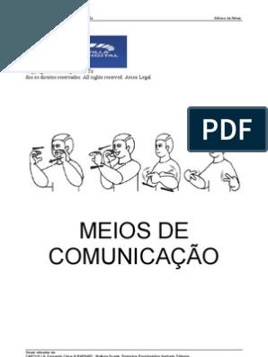 Apostila De Libras Pdf