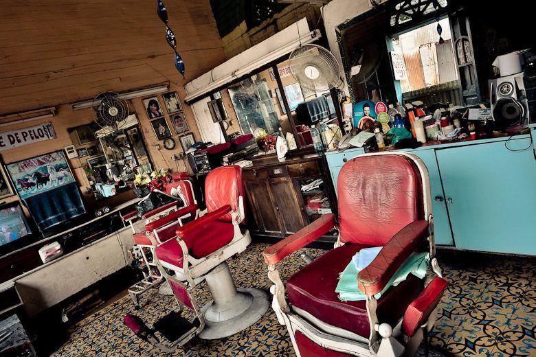 Man Cave Barber Dublin : An old fashioned barber shop 'la barbería' in san salvador el