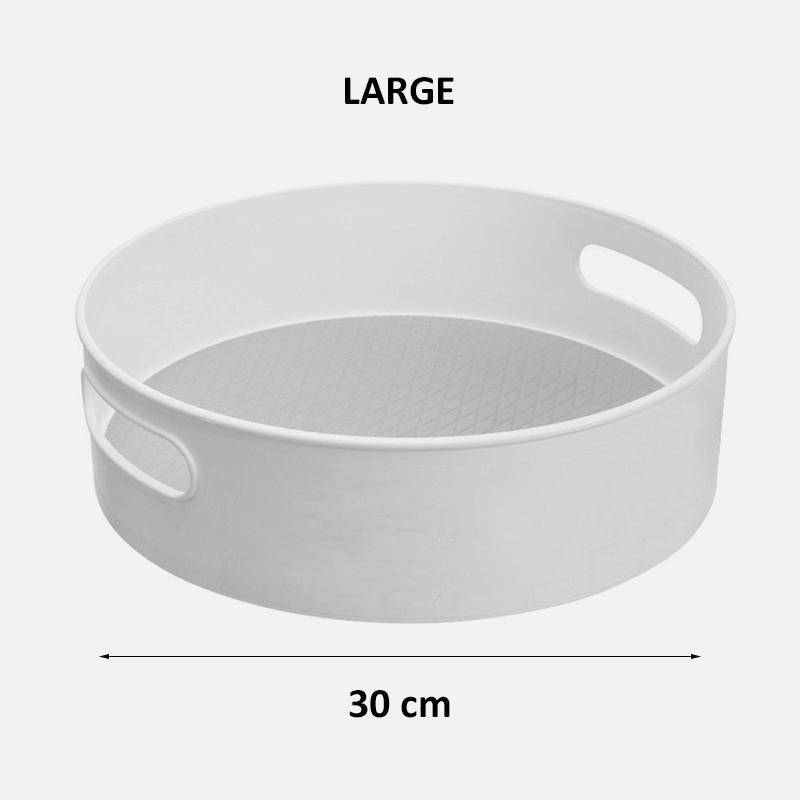 Turntable Organizer - Grey large