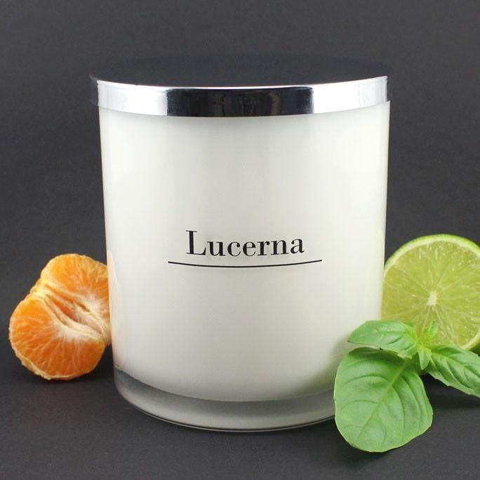 Lime, Basil and Mandarin Large Soy Classic Tumbler | Room Sprays
