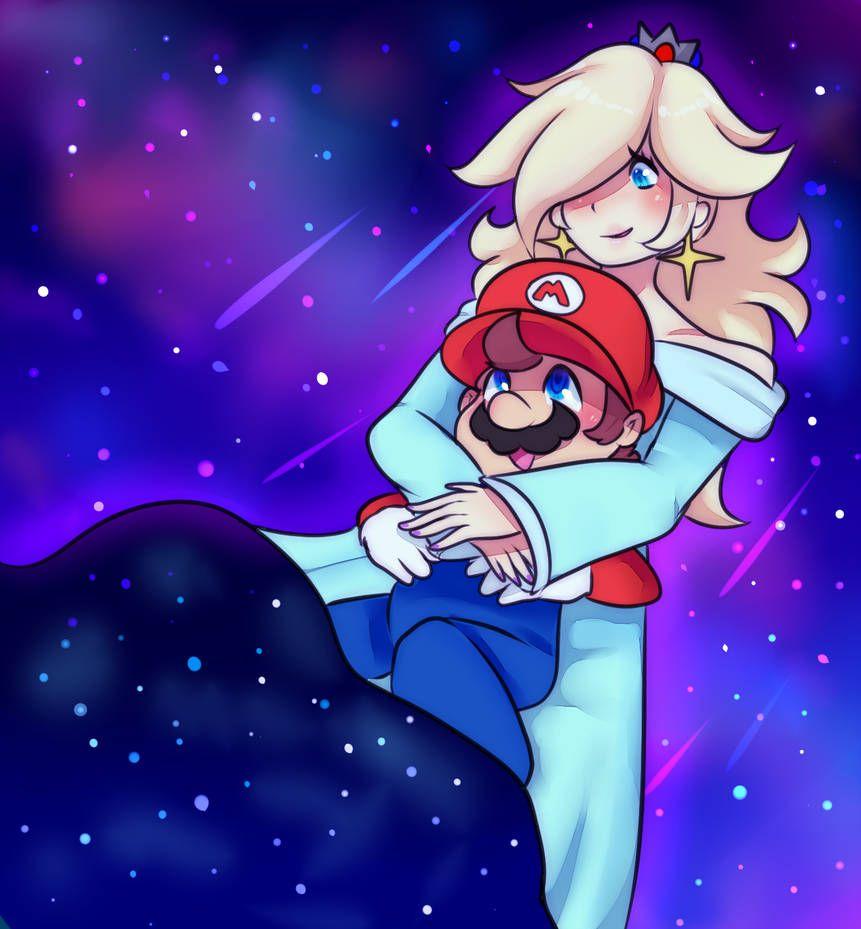 Rosalina X Mario By Sexybrony Super Mario Art Mario Art Super Mario