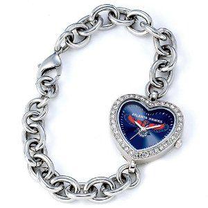 Ladies NBA Atlanta Hawks Heart Watch Jewelry Adviser Nba Watches. $60.00