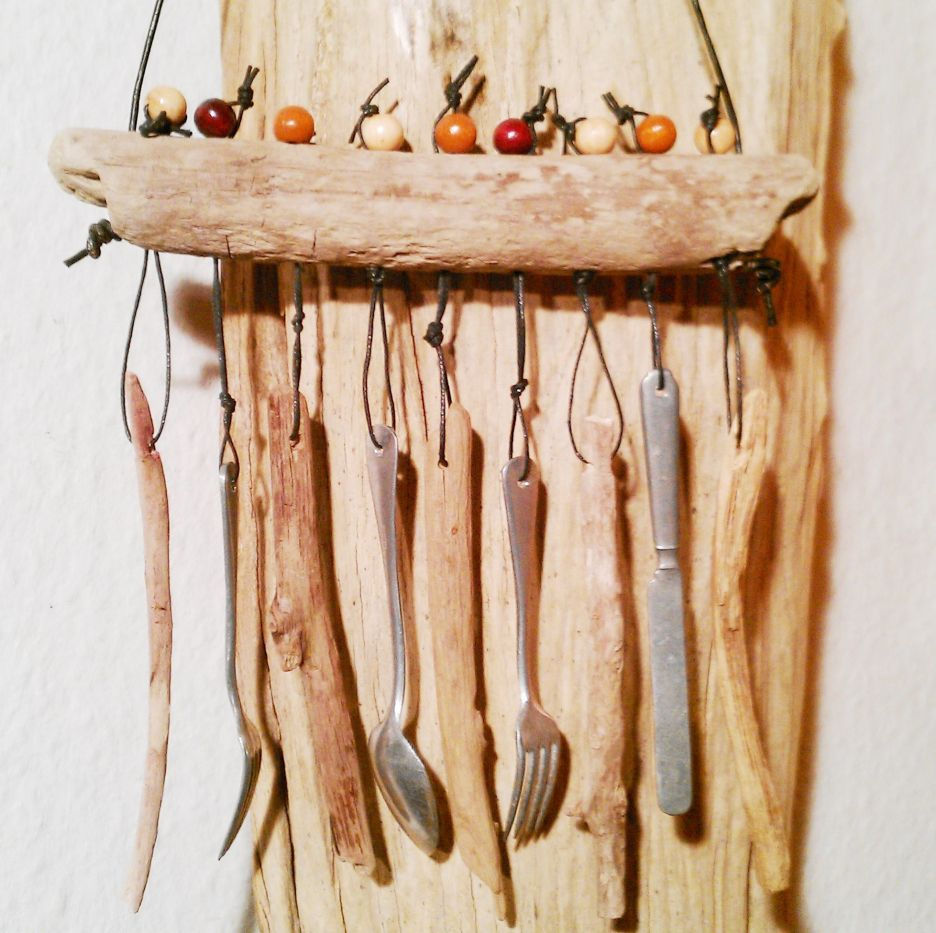 windspiel klangspiel selber basteln anleitung bastelideen fr den sommer drauen basteln mit. Black Bedroom Furniture Sets. Home Design Ideas