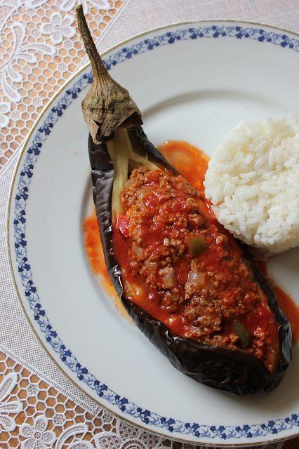 Photo of Nesrin's Kitchen: Grilled and Stuffed Eggplant (Köz Patlic …