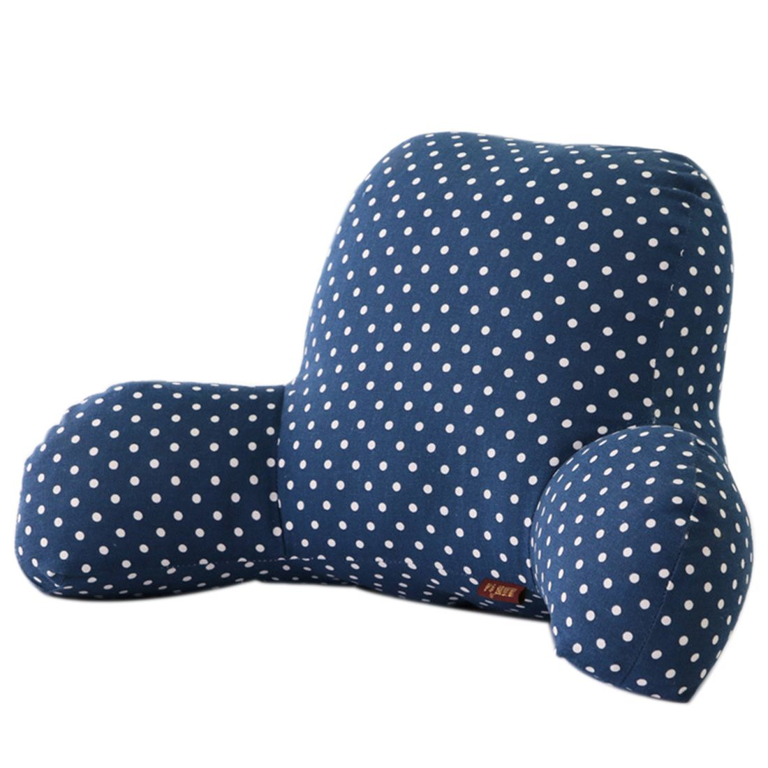 Hipsteen office seat pillow cotton u linen lumbar waist pillow pad
