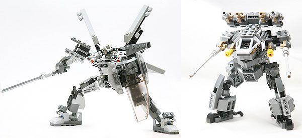 Gallery of mecha robots made of LEGO's - Doobybrain.com